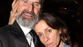 Tony winner Frances McDormand cozies up to her Good People director Daniel Sullivan.