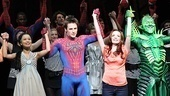 It's been quite a journey for these actors! The Spider-Man cast steps out hand-in-hand.