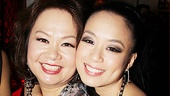 T.V. Carpio gives her lookalike mom, singer Teresa Carpio, a hug.