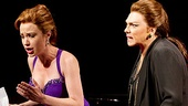 Sierra Boggess as Sharon Graham and Tyne Daly as Maria Callas in Master Class.