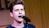 "Aaron Tveit, who sings 11 (!) numbers in the show as Frank Abagnale Jr., performs his character's penultimate ballad, ""Good-Bye."""