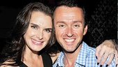 The Addams Family composer Andrew Lippa loves hearing Brooke Shields belt out his music as Morticia.