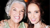 Tyne Daly and Sierra Boggess are officially getting the party started!