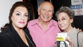 Master Class playwright Terrence McNally has good reason to smile: Hes standing between Tyne Daly and Zoe Caldwell, two great actresses who starred in his Tony-winning play.  