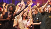 Hair Opening Night 2011 – Darius Nichols – Caren Lynn Tackett – daughter Ravyn – James Rado – A.D. Coughlan (curtain call)