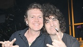 Rick Allen and Rock of Ages drummer Jon Weber join forces for one badass rock photo.