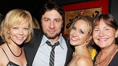 &lt;i&gt;All New People&lt;/i&gt; Opening Night  Emily Bergl  Zach Braff  Anna Camp  