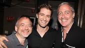 We'll close with a snap of Matthew Morrison with Marc Shaiman and Scott Wittman, who helped give the Glee star his big Broadway break in Hairspray. Congrats on a great evening, Matt!