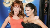 Lea Michele and Kathy Griffin work it together for the cameras.