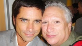 John Stamos and Harvey Fierstein give our camera their best smolder.