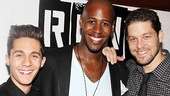 Opening night of <i>Rent</i> - Michael Wartella - Marcus Paul James and Ben Thompson