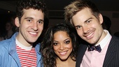 Opening night of <i>Rent</i> - Adam Chanler-Berat – Arianda Fernandez - Matt Shingledecker