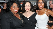Current Mama Morton Carol Woods strikes a pose with original cast members Bebe Neuwirth and Mamie Duncan-Gibbs.