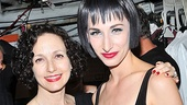 Two Velmas are better than one! The revival's original Tony-winning star Bebe Neuwirth gets close with current Velma, Nikka Graff Lanzarone.