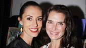 Hot mamas! Say hello to the Morticias of Broadway (Brooke Shields) and the road (Sarah Gettelfinger.)