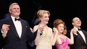 <i>Follies</i> opening night – Ron Raines – Jan Maxwell – Bernadette Peters – Danny Burstein