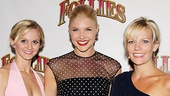 &lt;i&gt;Follies&lt;/i&gt; opening night  Leslie Donna Flesner  Amanda Kloots-Larsen  Jennifer Foote