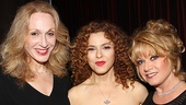&lt;i&gt;Follies&lt;/i&gt; opening night  Jan Maxwell  Bernadette Peters  Elaine Paige