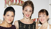 &lt;i&gt;Follies&lt;/i&gt; opening night  Sara Edwards  Ashley Yeater  Danielle Jordan 