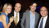 &lt;i&gt;Follies&lt;/i&gt; opening night  Kelli OHara  Danny Burstein  Greg Naughton  Don Correia