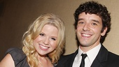 They may be rising TV stars, but Megan Hilty and Michael Urie will never forget their stage roots.
