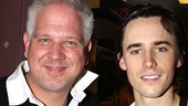 Celebs at Spider-Man  Glenn Beck  Reeve Carney 