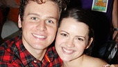 The Submission's Jonathan Groff cozies up to How to Succeed sweetheart Rose Hemingway.