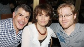 Bryan Batt, Beth Leavel and Anthony Rapp report for autograph duty.