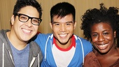 Godspell meet - George Salazar - Telly Leung - Uzo Aduba