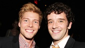TV and stage stars Hunter Parrish and Michael Urie are on hand to support the casting community.