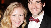 Anything Goes charmer Colin Donnell and his friend Abbie smile for our camera.