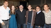 <i>Bonnie & Clyde</i> meet and greet – Jeff Calhoun – Laura Osnes – Frank Wildhorn – Jeremy Jordan – Don Black – Ivan Menchell