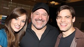 &lt;i&gt;Bonnie &amp; Clyde&lt;/i&gt; meet and greet  Laura Osnes  Frank Wildhorn  Jeremy Jordan