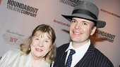Broadway buds Marylouise Burke and Jefferson Mays, who will soon be back on stage in Blood and Gifts at Lincoln Center, pal around on this opening night. 