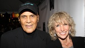 Mountaintop opens – Harry Belafonte – wife Pamela Frank