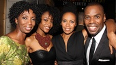 Mountaintop opens  Sharon Washington- Ya Ya DaCosta  Eisa Davis  Colman Domingo 