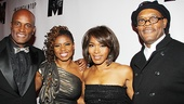 Let's hear it for The Mountaintop team: director Kenny Leon, playwright Katori Hall, Angela Bassett and Samuel L. Jackson.