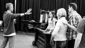 &lt;i&gt;Bonnie &amp; Clyde&lt;/i&gt; Rehearsal -  Steve Rankin  Laura Osnes