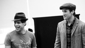 &lt;i&gt;Bonnie &amp; Clyde&lt;/i&gt; Rehearsal  Jeremy Jordan  Claybourne Elder 
