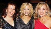 Dynamos indeed! Jennifer Perry, Lisa Brescia and Judy McLane get glam for their anniversary celebration.