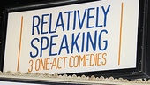 &lt;i&gt;Relatively Speaking&lt;/i&gt; Opening Night -  marquee