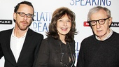 A picture for the history books! Ethan Coen, Elaine May and Woody Allen get together for a once-in-a-lifetime photo op. 