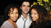 Before he returns to Broadway in Seminar, Hamish Linklater enjoys an opening night with fellow Broadway vets Eisa Davis and Jennifer Newman.