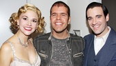 It looks like Sutton Foster and Colin Donnell think entertainment blogger Perez Hilton is the top!