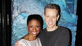 Adam Pascal First Memphis Performance  Montego Glover- Adam Pascal (cupcakes)