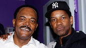 It's been a long time since Samuel L. Jackson and Denzel Washington were on screen together in Spike Lee's Mo' Better Blues, but these stars always happy to support each others work.