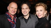 Other Desert Cities Broadway Opening Night  Sting  Thomas Sadoski  Trudie Styler