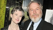 Actress Annette O'Toole must be relieved to see husband Michael McKean's eyesight restored after a gory turn as Gloucester in King Lear.