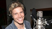 Hunter Parrish made his Broadway debut in Spring Awakening in 2008, but Godspell marks his first original cast recording