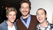Godspell recording – Hunter Parrish – Daniel Goldstein – Charlie Alterman